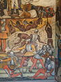 Rivera Mural Palacio Nacional Mexico from Conquer to Present Detail.jpg
