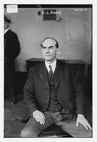 Texas's 7th congressional district - Image: Robert Lee Henry in 1917