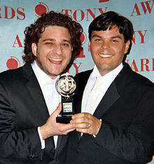 Wikipedia: Robert Lopez at Wikipedia: 220px-Robert_Lopez_Jeff_Marx_Tony_Awards