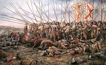 May 19: Battle of Rocroi Rocroi, el ultimo tercio, por Augusto Ferrer-Dalmau.jpg