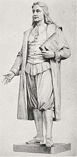 Roger Williams English Protestant theologian and founder of the colony of Providence Plantation