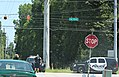 Roman Forest Police directing traffice at Tram Road and 2090 (27242186401).jpg
