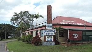 Rosedale, Queensland - Image: Rosedale Hotel, Rosedale, Queensland, 2016 02