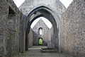 Rosserk Friary View from Choir into the Nave 2013 09 14.jpg