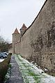 Rothenburg ob der Tauber, Klingenscütt 1, 3, Feldseite, 001.jpg