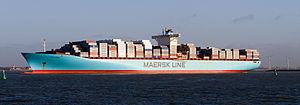 Rotterdam-Europoort - Estelle Maersk CC-BY-SA.jpg