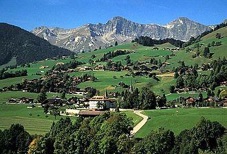 Rougemont, Switzerland - Image: Rougemont picswiss