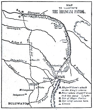 Shangani Patrol - Route of the Shangani Patrol