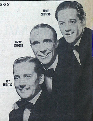 Ice Follies - Ice Follies founders Roy Shipstad, Oscar Johnson, and Eddie Shipstad