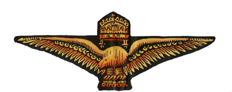 File:Royal Hungarian Air Force Pilots Badge drawing.png