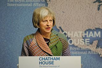 Chatham House - Theresa May speaking in 2015
