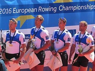 Andrei Jämsä Estonian rower