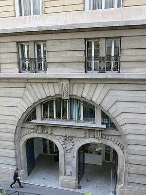 International School of Paris - 13 rue Beethoven, secondary school building