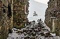Ruins of Glen Lochsie lodge in winter (2013) - panoramio.jpg