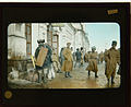 Russian soldiers outside Omsk Train Station 1917.jpg