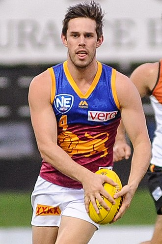 Ryan Bastinac - Bastinac playing for the Brisbane Lions reserves in April 2017