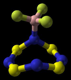 Tetrasulfur tetranitride - S4N4·BF3