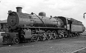 South African type XM tender - Image: SAR Class 4AR 1554 (4 8 2)