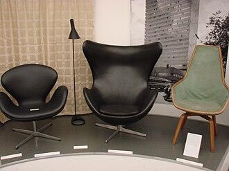 Radisson Blu Royal Hotel, Copenhagen - Image: SAS Royal Hotel furniture in Copenhagen