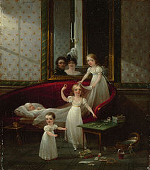Cornelis Alewijn and his wife Wilhelmina Olowina Degerman and children