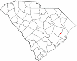 Location of Andrews inSouth Carolina