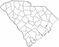 Location of Andrews inSouth Carolina