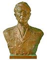 SK Hladik Karol busta generala Ludvika Svobodu 1967 bronz 74 59 37.jpg