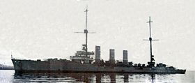 Karlsruhe 1919 in Scapa Flow