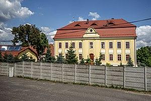 Zwanowice, Brzeg County - Palace