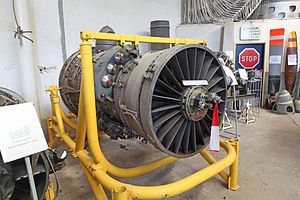 Pratt & Whitney TF30 - Image: SNECMA P & W TF 106 Jet Engine (7362379444)