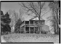 SOUTH AND EAST FACADES - Woodburn, Woodburn Road, U.S. Route 76 vicinity, Pendleton, Anderson County, SC HABS SC,4-PEND.V,5-1.tif