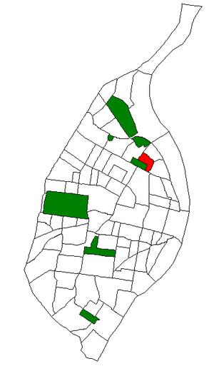 Fairground, St. Louis - Image: STL Neighborhood Map 67