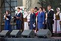 Saeimas priekšsēdētāja piedalās Baltu vienības dienas pasākumos Rokišķos (21517670516).jpg