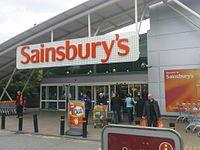 Sainsbury's shopfront