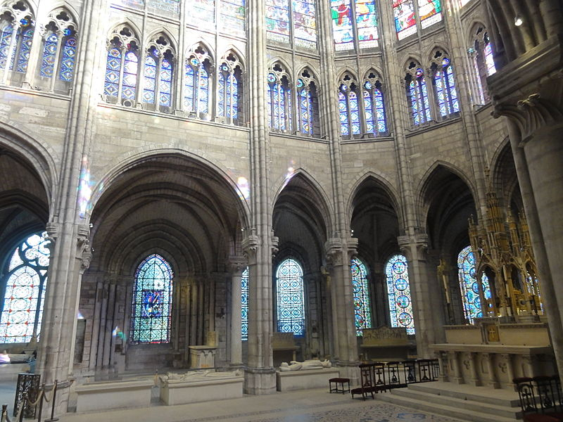 file saint denis 93 basilique saint denis abside wikimedia commons. Black Bedroom Furniture Sets. Home Design Ideas