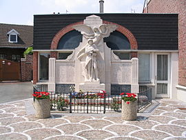The monument to the dead of Saint-Nicolas