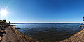 Saint Lawrence River near the city of Beauharnois Panorama.jpg
