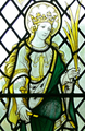 Saint Non's Chapel - Fenster 1 St.Winifred (cropped).png