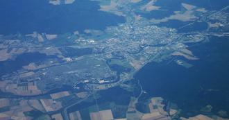 Saint-Dizier - Aerial view