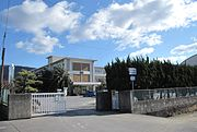 Sakaide City Hakuhou junior high school.JPG
