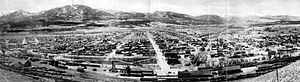 Salida, Colorado - Panoramic View of Salida, 1910