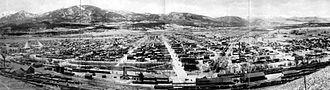 Salida, Colorado - Panoramic View of Salida, 1910