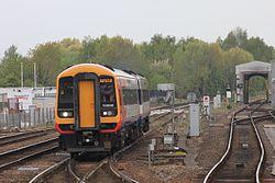 Salisbury - SWT 158886 leaving the depot.JPG