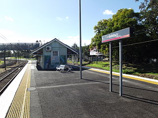 Salisbury railway station, Brisbane railway station in Brisbane, Queensland, Australia