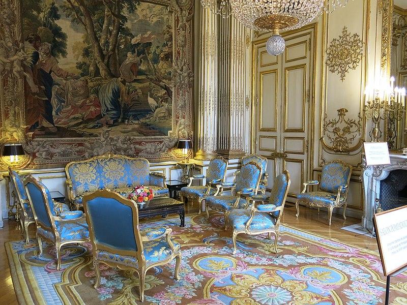File salon pompadour du palais de l 39 lys wikimedia for Video du salon de l erotisme