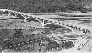 Caprigliola bridge collapse 260 m road bridge collapsed in Italy on 08 April 2020