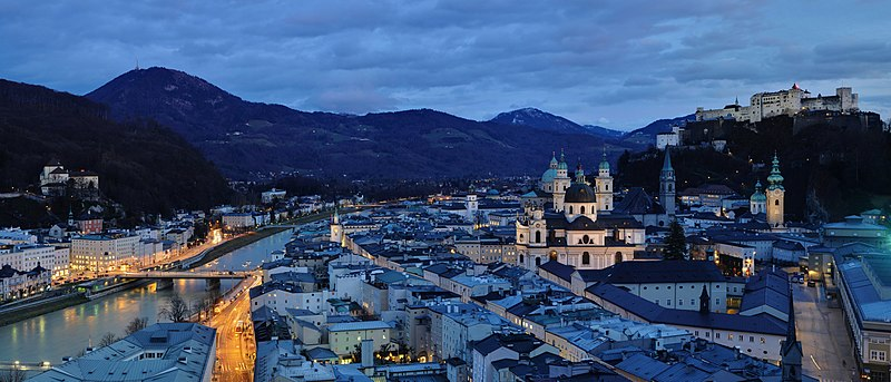 Salzburg. From an eating tour of Austria