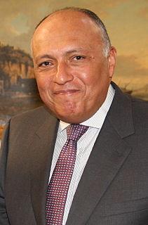 Sameh Shoukry Egyptian diplomat & Ambassador