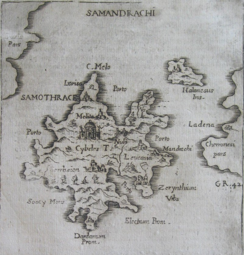 Samothraki island - Francesco Piacenza - 1688