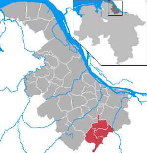 Apensen (Samtgemeinde) - Image: Samtgemeinde Apensen in STD